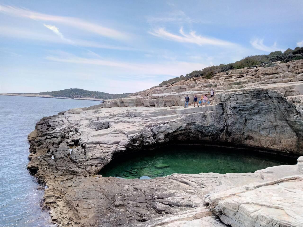 Giola, natural lagoon of Thassos