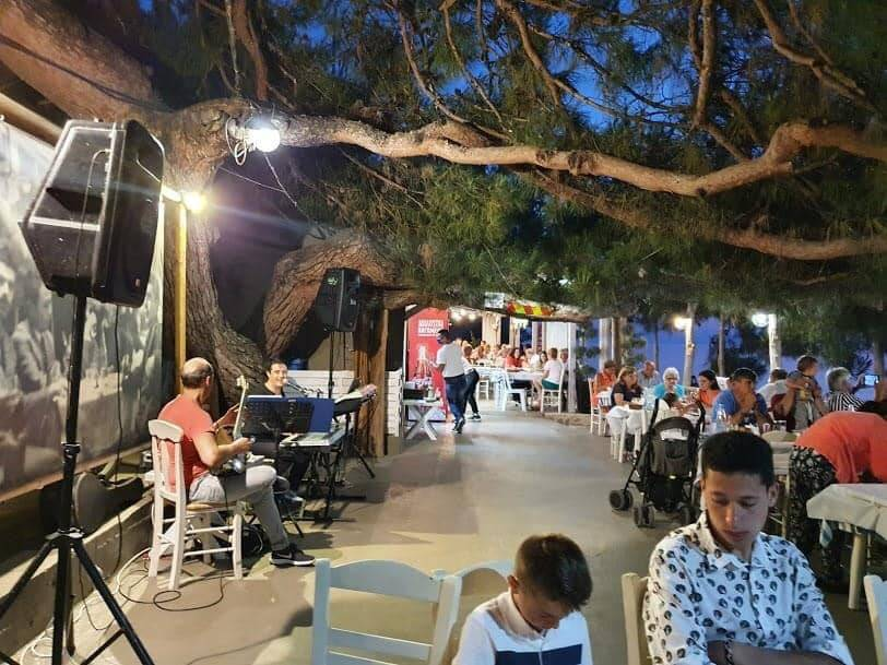 Thassos activities-Greek night
